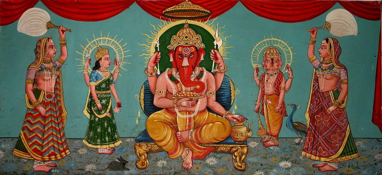 Ganesh,_folk_art,_Bharatiya_Lok_Kala_Museum,_Udaipur,_India